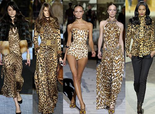 Leopard prints are always in fashion