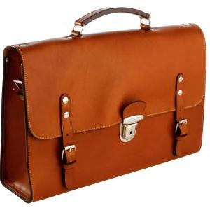 Men's briefcases from leather