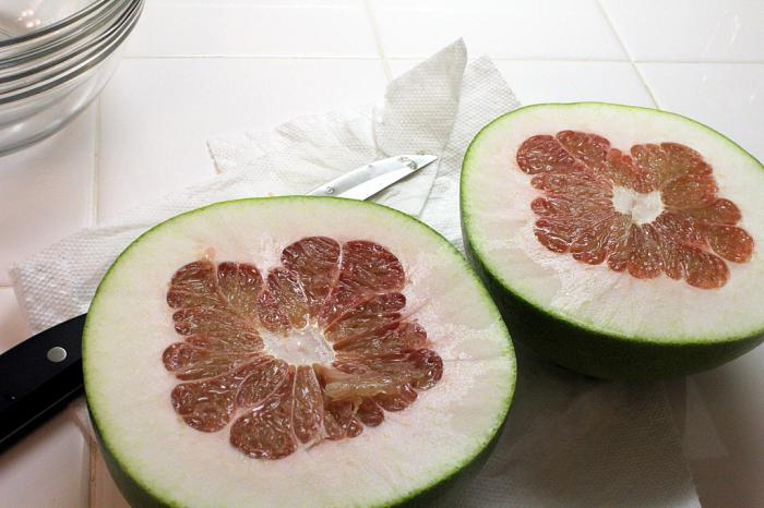 where pomelo grows