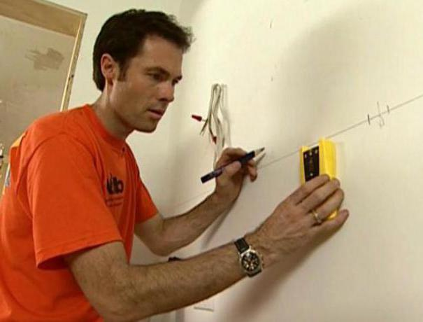 Mounting rail: mounting of wall cabinets
