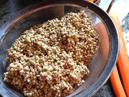 Buckwheat in a multivariate: a recipe for cooking
