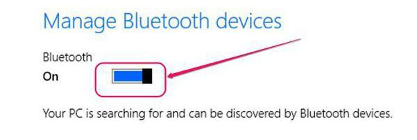 How to turn on bluetooth on laptop